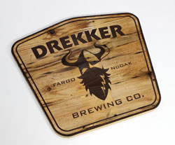 Drekker Bewing Co. Personalized Wood Sign