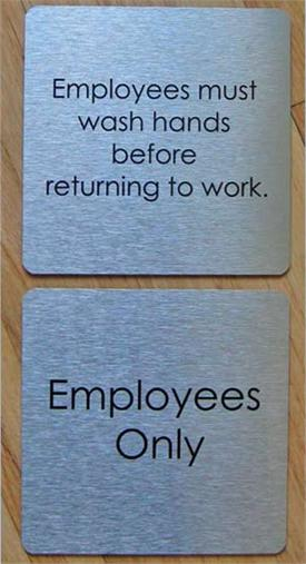 Custom Office & Employee Signs & Nameplates