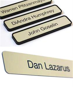 Interchangeable Office Signs and Sign Plates