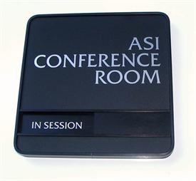 Silver Conference Room Signs