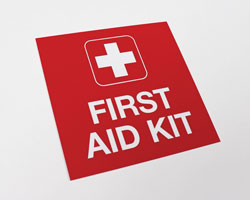 First Aid Wall Sign
