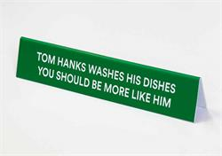 Funny Wash Dishes Sign