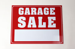 Sale Sign for Yard