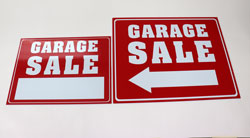 Signs for Yard Sale