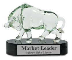 Glass Bull Award