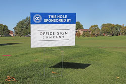 Outdoor Golf Signs