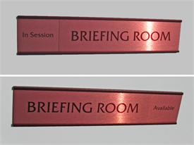 Rich Brown Office Signs & Slider Signs