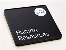 Executive Office Signs - Human Resources