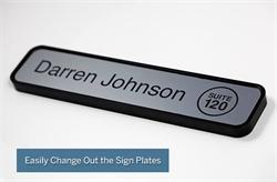 Changeable Name Plate Office Signs