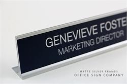 Employee Nameplates for Desk