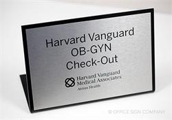 Medical Desk Signs and Counter Display Signs