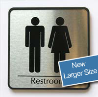 Restroom Signs & Name Plates
