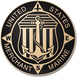 Military Seal for Merchant Marines