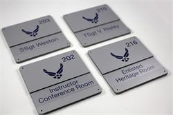 Military Office Signs & Custom Window Signs - GSA Contractor