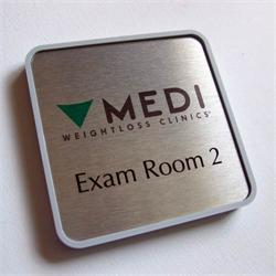 Custom Office Door Signs and Exam Room signage