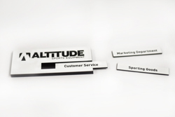 Name Badge with Removable Insert