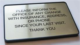 Insurance & Medical Office Signs