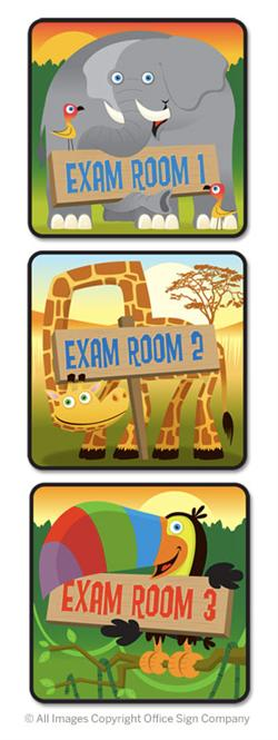 Fun Office Door Signs & Pediatric Name Plates