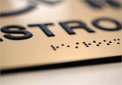 Raised Lettering and Grade 2 Braille