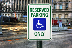 Personalized Reflective Parking Signs for Posts