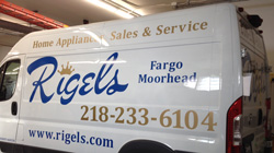 Rigels in Fargo Moorhead Custom Vehicle Graphics