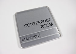 Meeting Room Slider Sign
