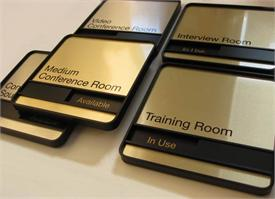 Sliding Message Signs For Doctors And Conference Rooms