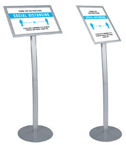 Interchangeable Lobby Signs