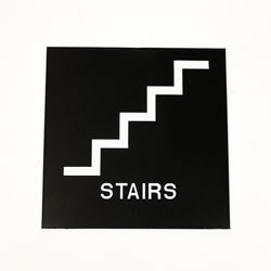 ADA Compliant Stairs Sign