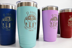 Engraved Stainless Steel Mugs