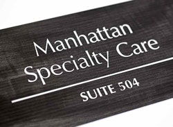 Engraved Suite Room Signs