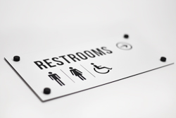 Durable Engraved Wayfinding Signs