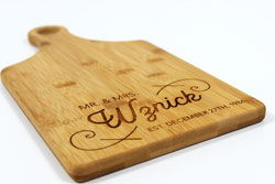 Custom Wedding Cutting Board