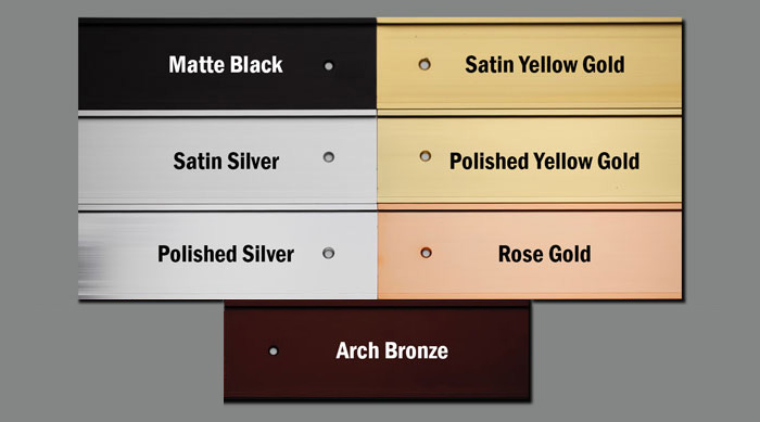 office sign frame colors